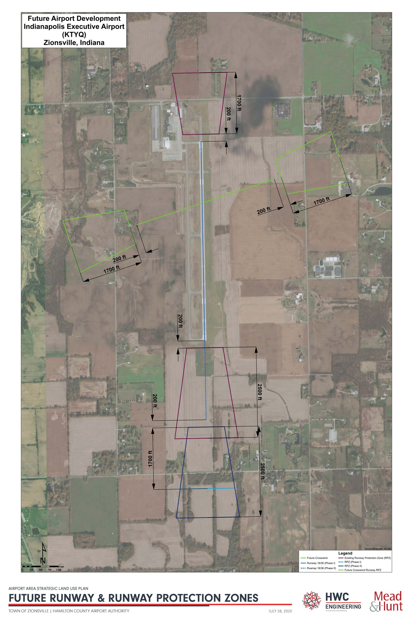 Future Runway and Runway Protection Zones